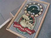 MOOSEHEAD LAGER Sign WALL CLOCK